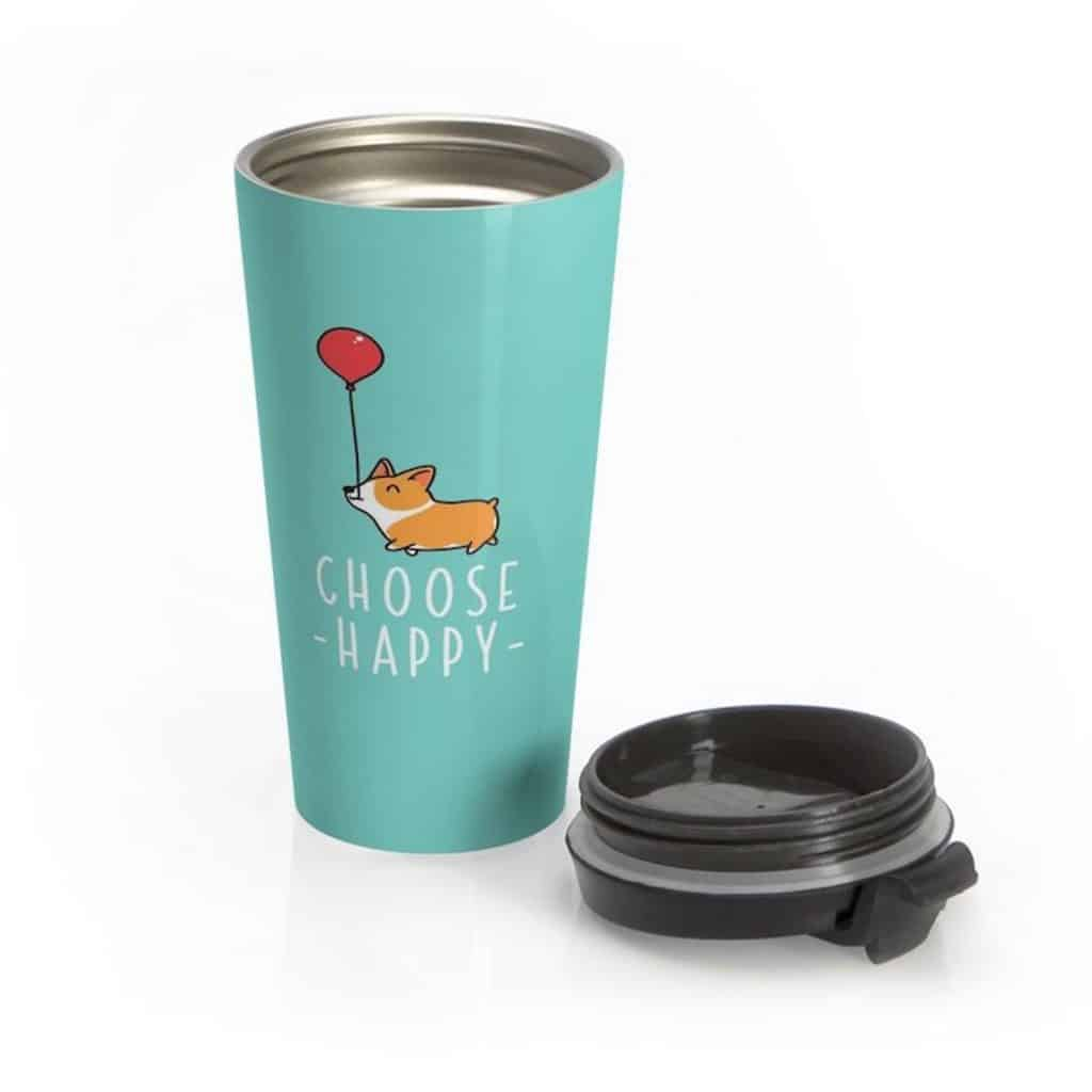 Choose Happy Corgi Mug