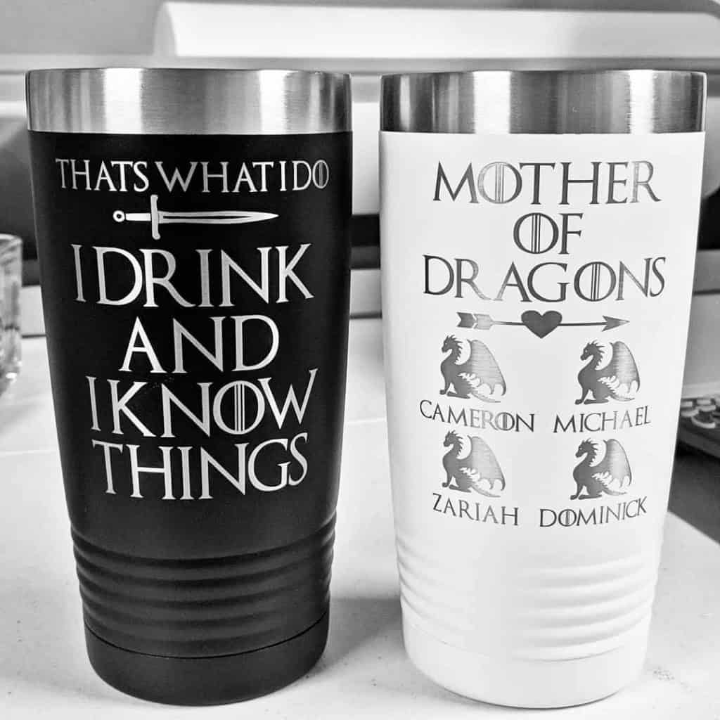 Mother of Dragons Travel Mug